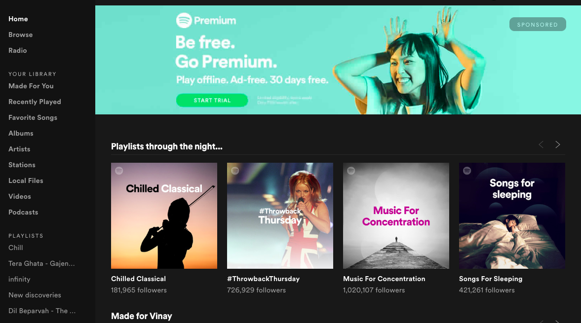 Spotify Music App launched in India | Best Music App