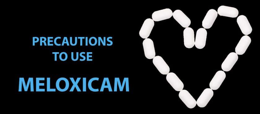 precautions meloxicam